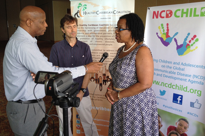 Professor Nigel Unwin and Dr. Alafia Samuels, authors of the report, discuss the key findings with CMC reporters