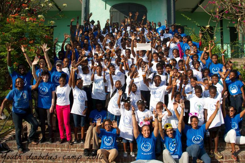 Haiti Youth Diabetes Camp 2016