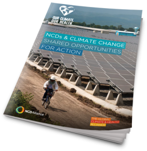 Climate Change and NCDs