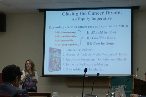 Combat Women's Cancers in the English Caribbean