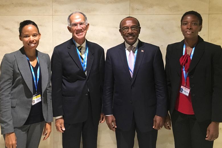HCC Meets Antigua MOH