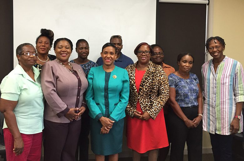 Members of the Antigua and Barbuda Wellness Committee