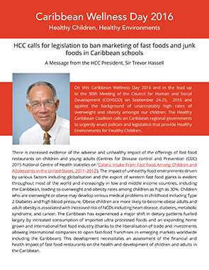 HCC President's Message for CWD 2016