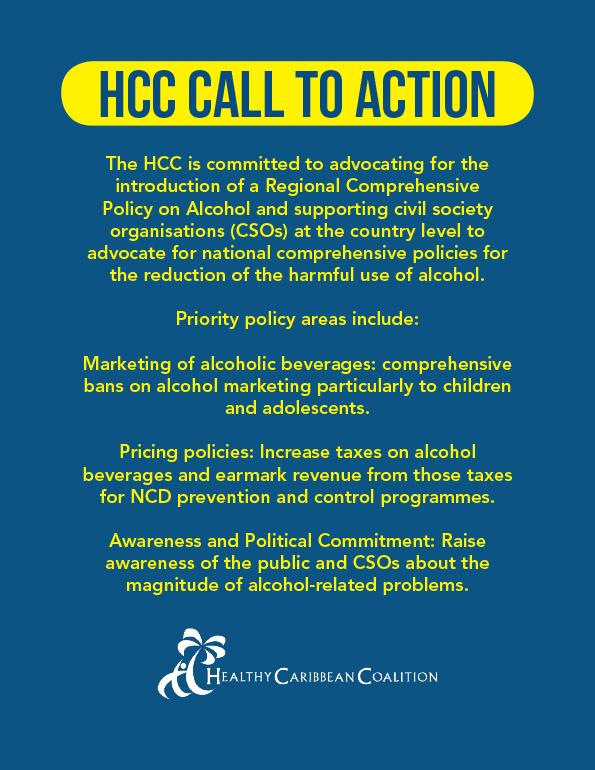 HCC Call to Action on Alcohol Reduction