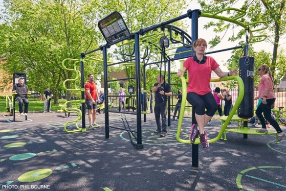 Playground for Adult Physical Activity