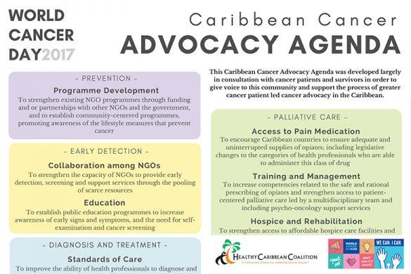 Caribbean Cancer Advocacy Agenda 2017