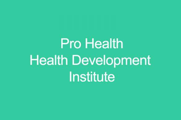 Pro Health - Health Development Institute