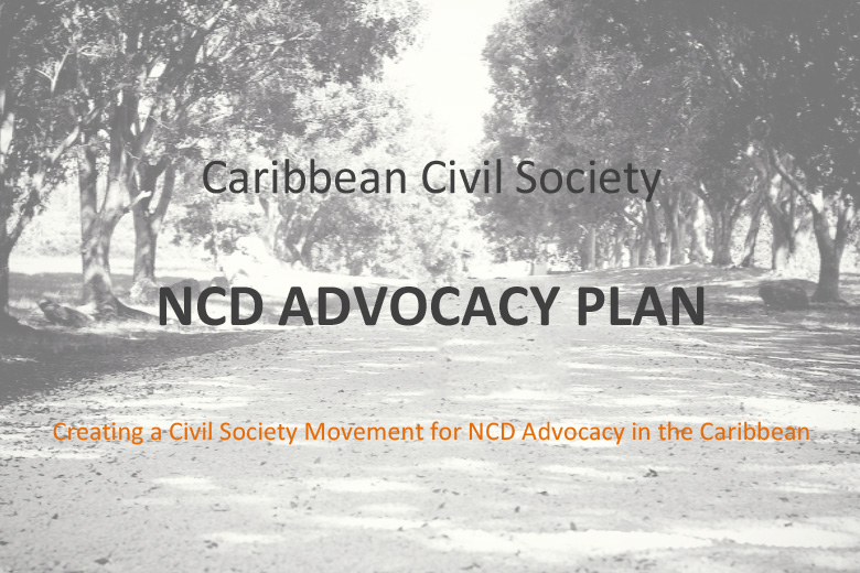 Civil Society NCD ADVOCACY PLAN