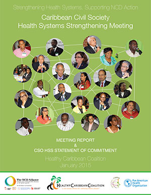 Caribbean Civil Society Health Systems Strengthening Meeting Report