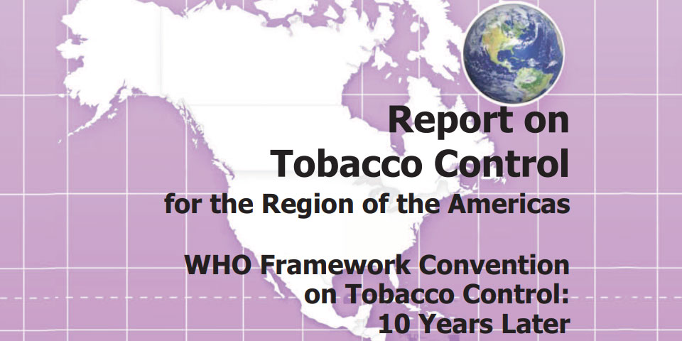 Regional Report on Tobacco Control