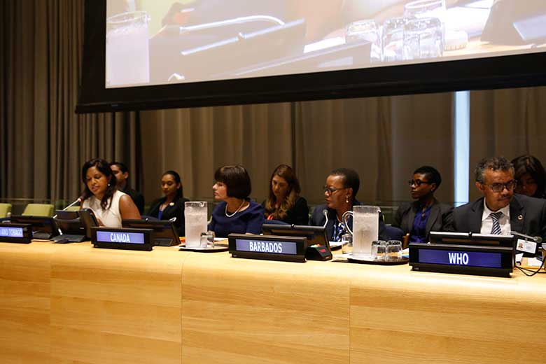 Opening Panel at the UNGA Childhood Obesity side event