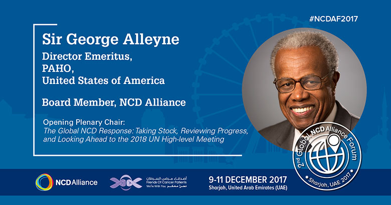 HCC Patron Sir George Alleyne