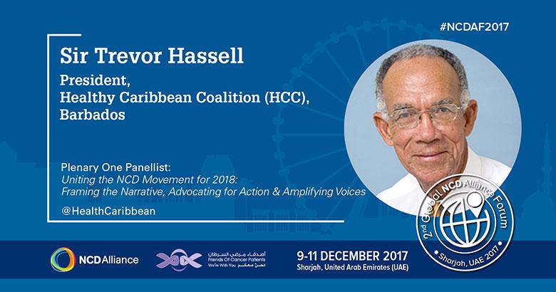 HCC President Sir Trevor Hassell