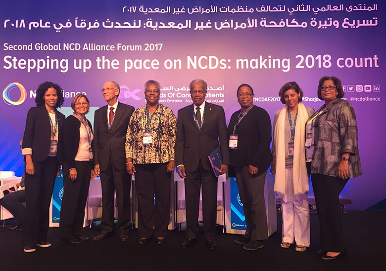Representatives of the Caribbean Region in Sharjah