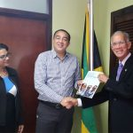 HCC President Visits the Jamaica Minister of Health