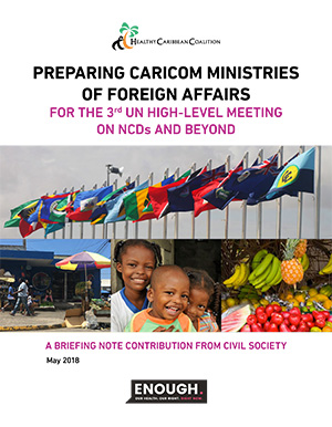 Preparing CARICOM Ministries of Foreign Affairs for the 3rd UN High-Level Meeting on NCDs and Beyond