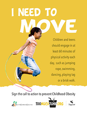 Childhood Obesity Prevention Call to Action I need to move
