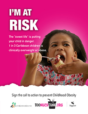 Childhood Obesity Prevention Call to Action I'm at Risk