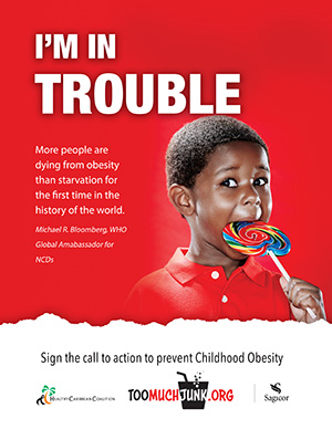 Childhood Obesity Prevention Call to Action I'm in Trouble