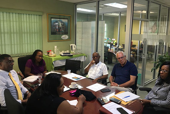 Guyana National NCD Commission Study Tour to Barbados