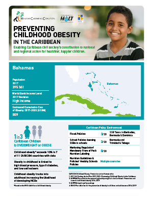 Bahamas obesity fact sheets