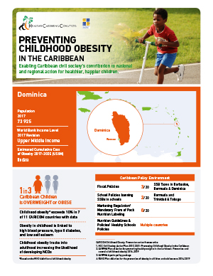 Dominica obesity fact sheets