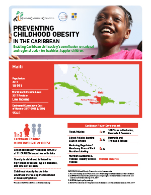 Haiti obesity fact sheets