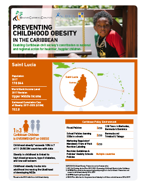 St Lucia obesity fact sheets