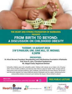 HSFB Public Lecture on Childhood Obesity