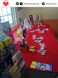 Props used for presentations at HHC and PTA meetings