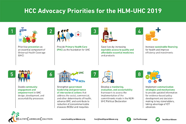 Eight HCC Advocacy Priorities for High-Level Meeting on Universal Health Coverage