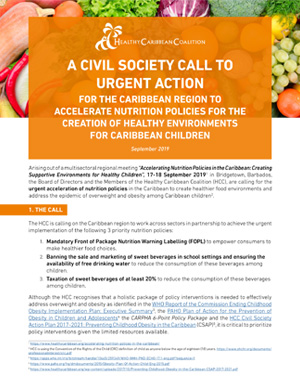A Civil Society Call to Urgent Action for the Caribbean Region