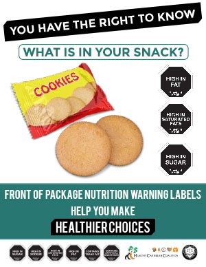 Front of Package Nutrition Warning Labels
