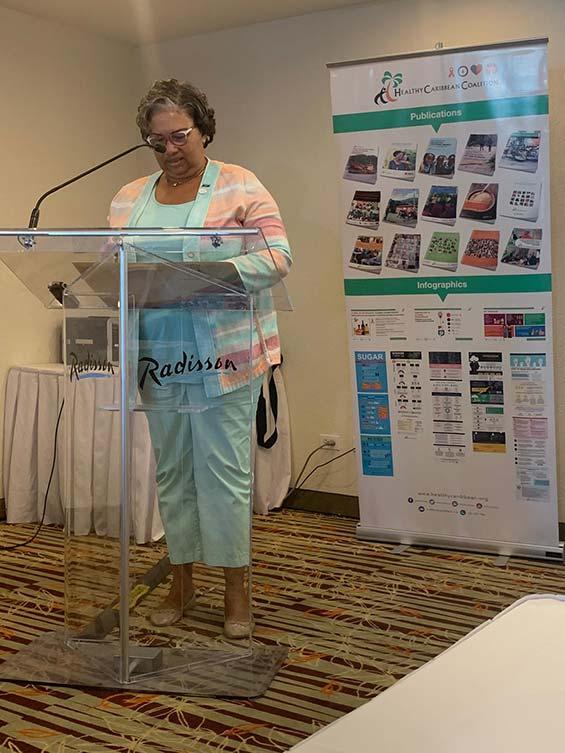 Dr. Joy St. John, Executive Director, Caribbean Public Health Agency (CARPHA)