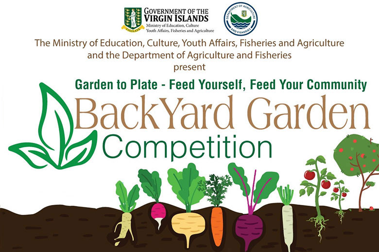 "British Virgin Islands backyard gardening initiative – ""Garden to Plate - Feed Yourself, Feed your Community"""