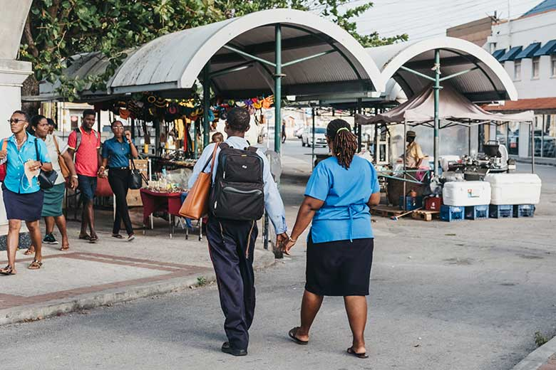 Walkability and Non-Communicable Diseases in Barbados