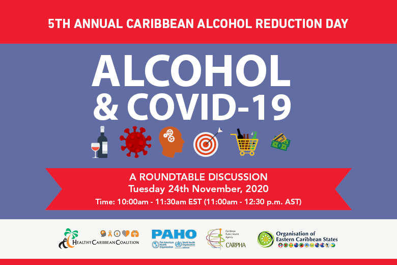 5th Caribbean Alcohol Reduction Day (CARD) 2020