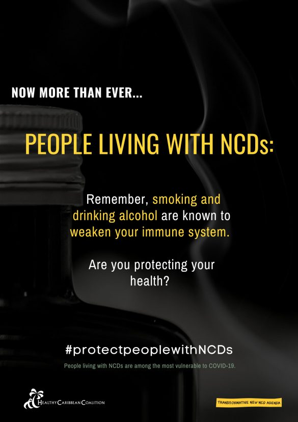 Let's work together towards a Transformative New NCD Agenda
