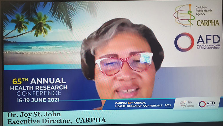 CARPHA Health Research Virtual Conference 2021